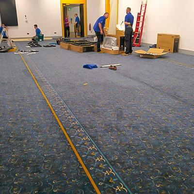 mayor's parlour flooring tiles panels commercial