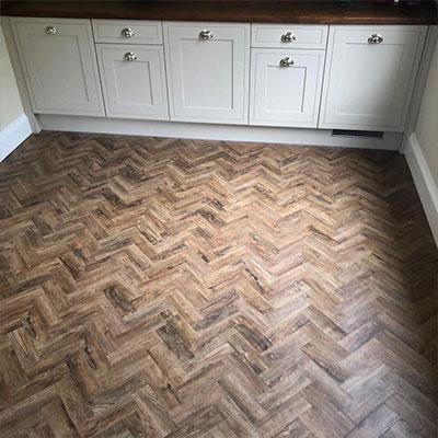 residential kitchen floor flooring