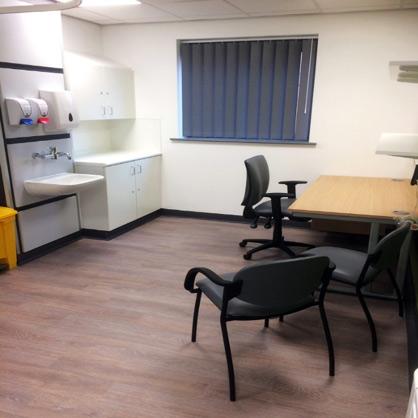 brixworth medical centre healthcare hospital flooring